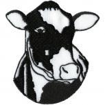 Aufnäher - Kuh Rind Ochse -  00950 - Gr. ca. 7cm x 7cm