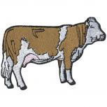 Aufnäher - Rind Kuh Bulle Ochse - 00999 - Gr. ca. 8 x 11cm