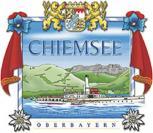 Auto-Aufkleber - Chiemsee - Gr. ca. 9 x 8cm (301390) Wappen Landeszeichen Flagge