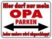Parken-Schilder