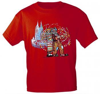 T-Shirt Karneval Fastnacht Kölner Dom Clowns 09530 Gr. S-2XL