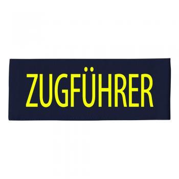 ARMBINDE Baumwolle mit Print - Zugführer - 30736 schwarz