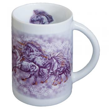 Tasse Keramikbecher Pferd Sternenponies Einhorn 57380 ©Kollektion Bötzel
