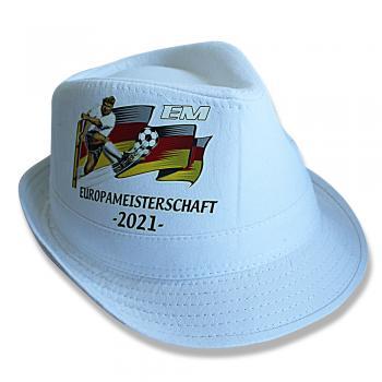 Sommerhut in Weiß Hut Sonnenhut Deutschland Europameisterschaft 2021 - 60781