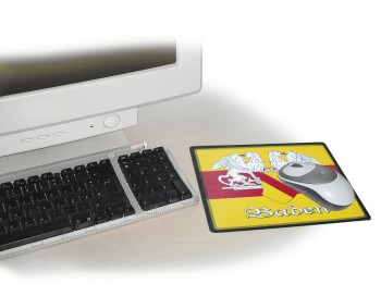 Mouse-Pad  - BADEN - 22537 - Unterlage Eye-Catcher für den Schreibtisch Mauspad Mousepad
