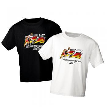 Kinder T-Shirt Euro 2020 Europameisterschaft 2021 EM - 06922 - Gr. 86-164