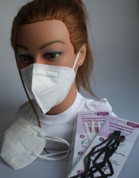 5x FFP2 Maske - Deutsche Herstellung CE2797 zertifiziert - Atemschutzmaske