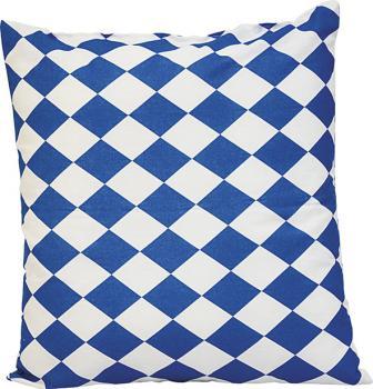 Dekokissen Kissen - BAYERN RAUTEN blau-weiß - Gr. ca. 40x40cm (41394)