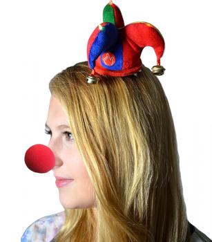 Clown-Nase aus Schaumstoff - 39949 - Gr. 5 cm
