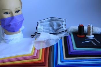 Set Self-Made-Set (DIYS) wertige Stoff-Ausführung - Alltagsmasken Behelfsmasken zum selber nähen - Entdecke dein Nähtalent