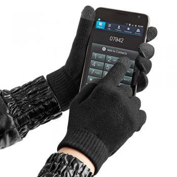 Handschuhe - mit Spezialeinsätzen an den Fingerkuppen für Touchfunktion - 31651 Gr. S-XL