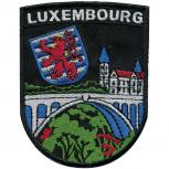 AUFNÄHER - Luxembourg - 00059 - Gr. ca. 7 x 9,5 cm- Patches Stick Applikation