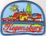 Aufnäher - Regensburg - 00506 Gr. ca. 8,5 x 6,5cm