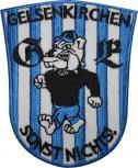 AUFNÄHER - Gelsenkirchen - NEU - 00554 - Gr. ca. 7,5 cm x 10,5 cm - Patches Stick Applikation Bügel-Emblem