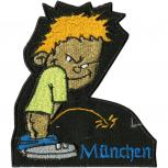 Aufnäher - Pinkelmännchen München - 01946 - Gr. ca. 8cm x 11cm