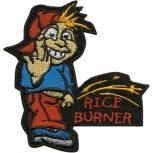 Aufnäher - Rice Burner - 01953 - Gr. ca. 8cm x 11cm