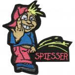 Aufnäher Pinkelmännchen - Spiesser - 01961 - Gr. 8cm x 11cm