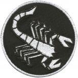 Aufnäher Patches Applikation Scorpion - 02025 - Gr. ca.  7,5cm