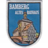 Aufnäher Patches -  Bamberg Altes Rathaus -02958 - Gr. ca. 6,5  x 8,5 cm   02958