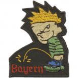 Aufnäher - Pinkelmännchen - Bayern - 02982 - Gr. ca. 7cm x 9cm
