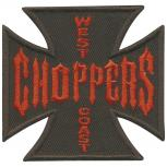 Aufnäher  - Choppers - 04178 - Gr. ca 7 x 6,5 cm - Patches Stick Applikation