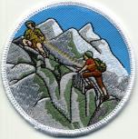 Aufnäher Applikation - Bergsteiger - 04502 - Gr. ca. 8cm