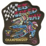 Aufnäher - Championship - 04928 - Gr. ca. 10 x 8,5 cm - Patches Stick Application