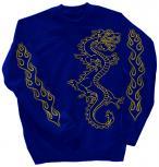 Sweatshirt mit Print - Drache Drake - 10114 Gr. S-4XL