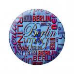 Ansteckbutton - Berlin blau - 18812 - Gr. ca. 5,7cm