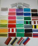 500 Stück Textil Design-Masken aus Baumwolle mit zertifizierten Innenvlies - Konvolut Sonderposten