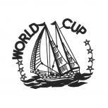 Aufnäher Patches World Cup Segelboote Gr. ca. 8 x 6,9 cm 20700