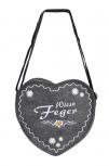 Herz-Filztasche mit Einstickung - Wies´n Feger - 26302 - Umhängetasche Bag