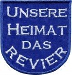 Aufnäher Patches Applikation Wappen - GELSENKIRCHEN -  00613 - Gr. ca. 6 x 6,5 cm