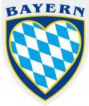 PVC Wappen - Aufkleber  - Bayern - 301511-2 - Gr. ca.