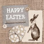 Tissue Servietten 20er-Pack Ostern Happy Easter 33x33cm 33723