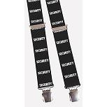 Hosenträger mit Print - Security - 06699 schwarz