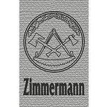 """Hosenhalter / Hosenträger mit Motivdruck """"Zunftzeichen ZIMMERMANN"""" NEU (06759)"""