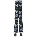 Hosenträger mit Print - Hühner züchten - ein schönes Hobby - 06804 schwarz