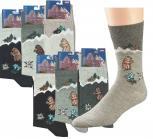 Socken 3er Pack Unisex Motiv - Murmeltier - 56355/1 Gr. 35-46