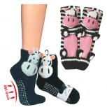 Homesocks Unisex ABS-Socken - Kühe Cow - 56363 Gr. 25-42