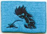 Pulswärmer Schweißband - Pinkelmännchen - 56520 blau
