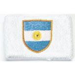 Pulswärmer - Argentinien - 56562 - Schweißband weiiß