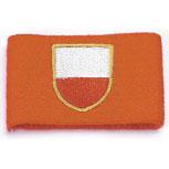 Pulswärmer Schweißband - Polen - 56572 rot