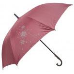 Regenschirm - Schirm - Stockschirm - Doppelschirm - Schneeflocken - ca 125 cm - 56603
