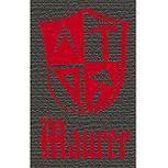 Hosenträger mit Print - Zunftzeichen Maurer - 06755 dunkelgrau