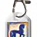 DESIGNER Schlüsselanhänger mit Pferdemotiv 18 - Collection Bötzel - Gr. ca. 70x25mm - 13130