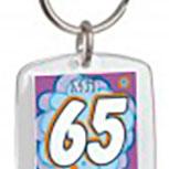 Schlüsselanhänger - mit 65 hat man noch Träume - 03363