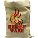 Jutesack mit Aufdruck - Feuerwehr Heisse Ware - 70512 Gr. ca. 56cm x 136cm