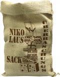 Jutesack mit Aufdruck - Nikolaus Sack Überraschungssack - 70541 Gr. 56cm x 136cm Weihnachten