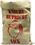 Jutesack mit Aufdruck - Knecht Ruprecht Sack -  Gr. 56cm x 136cm - 70542 Weihnachten